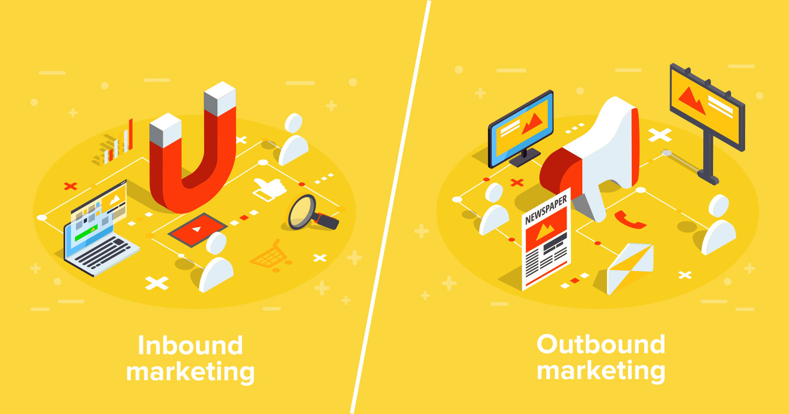 inbound-marketing vs outbound marketing infographic whitehat